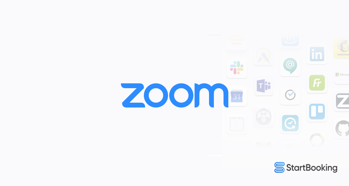 The new Zoom and Start Booking Integration makes scheduling and conducting virtual meetings easier than ever. Now, you can add interactive video conferencing to each appointment or class with just a click.