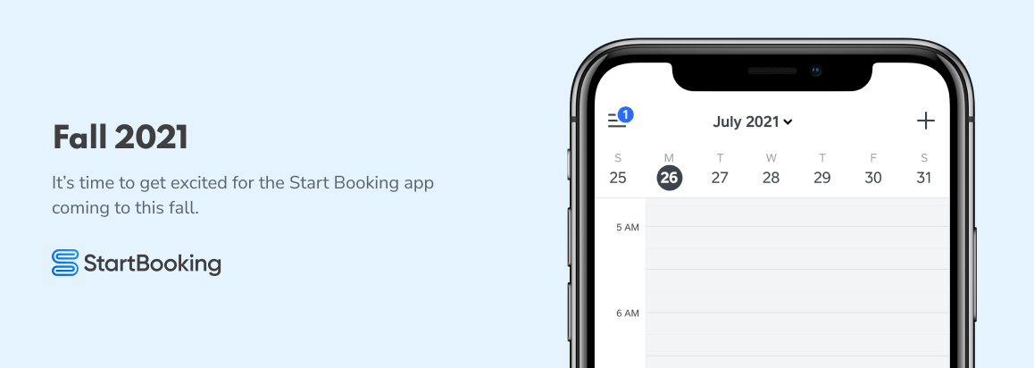 It's been a busy summer for the Start Booking team. We've spent a lot of time reflecting and discussing how we can improve your scheduling and online booking experience. After a lot of back and forth, we're excited to announce our next two major releases being the Start Booking mobile app (iPhone & Android) and […]