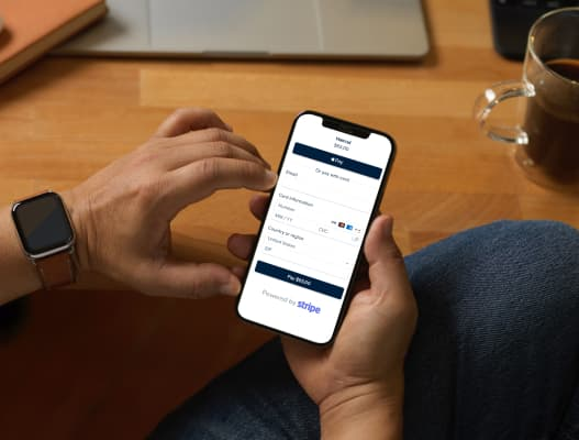 Take online payments with Stripe