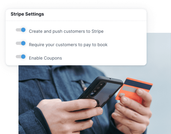 Get paid instantly via Stripe