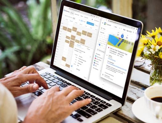 Coordinate your schedule with Google Calendar